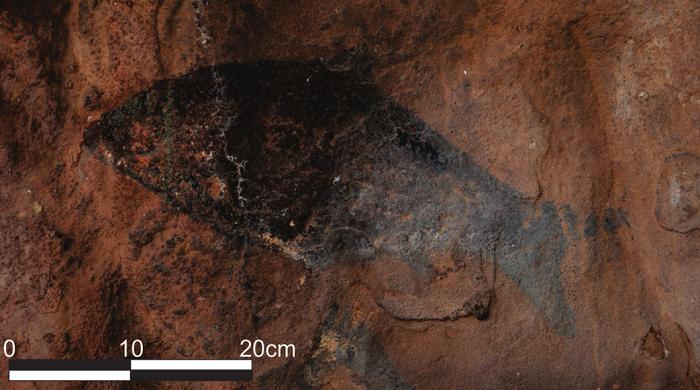 بوشمن ها قدیمی ترین نقاشی های هنر سنگی آفریقا را پنج هزار سال قبل در جنوب آفریقا به وجود آورده اند