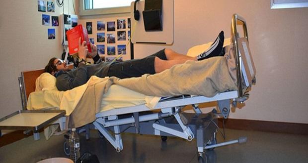 محققان فضایی فرانسه به دنبال داوطلب برای آزمایش 60 روزه در تختخواب