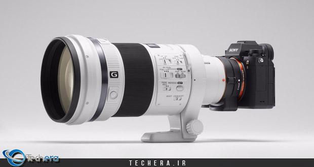لنز 2.500 دلاری دوربین دیجیتال سونی A9