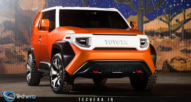 خودروی مفهومی تویوتا FT-X4