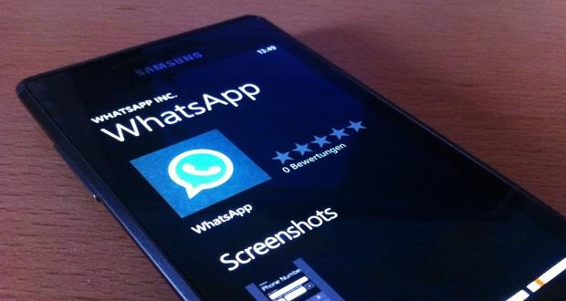 نسخه بتا واتساپ ویندوزفون ویژگیهای جدیدی را آزمایش میکند