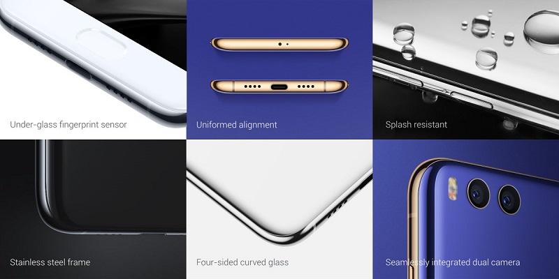 در قسمت بالایی شیائومی می 6 ، یک سنسور IR تعبیه شده و در قسمت پایینی، پورت یو اس بی نوع سی و دو اسپیکر قرار گرفته است. همه چی به خوبی پوشیده شده است