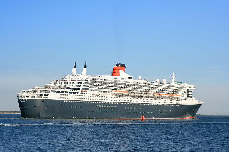 کشتی Queen Mary 2، هشتمین کشتی بزرگ دنیا
