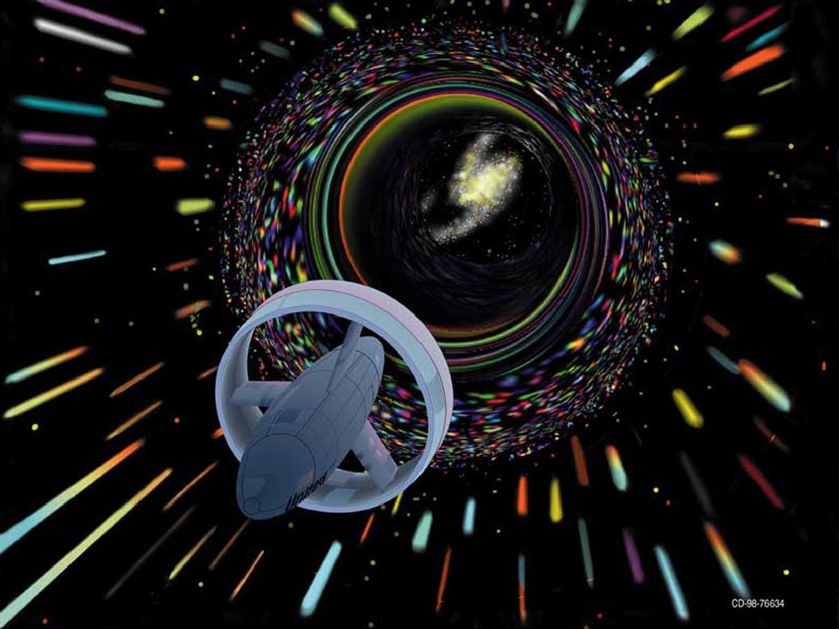 ناسا میتواند سریعتر از نور سفر کند