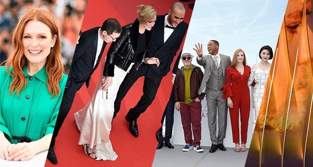 گزارش تصویری روز اول و دوم جشنواره فیلم کن 2017: اسمیت، مور، تورمن و بیشتر