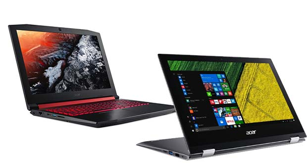 شرکت تایوانی ایسر از لپ تاپ گیمینگ نیترو 5 و نسل جدید لپ تاپ اسپین 1 رونمایی کرده است. لپ تاپ گیمینگ نیترو 5 یک محصول قدرتمند اما اقتصادی است.