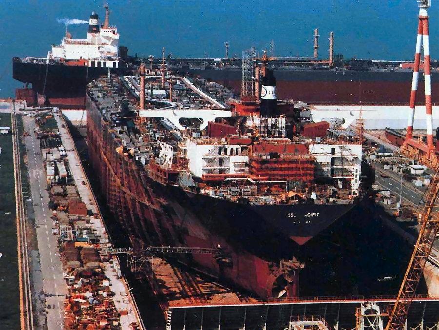 کشتی Esso Pacific، سومین کشتی بزرگ جهان