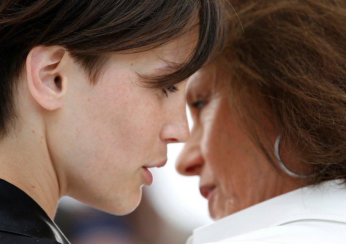 مارین واکت و ژآکلین بیست در فتوکال فیلم عاشق دوگانه
