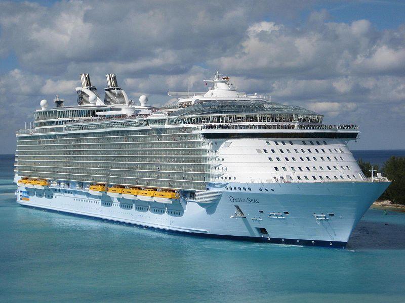 کشتی های کلاس Oasis، هفتمین کشتی بزرگ جهان و بزرگترین کشتی مسافربری جهان