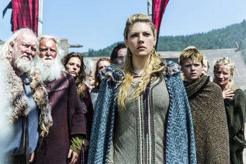 سکانسی از سریال Vikings