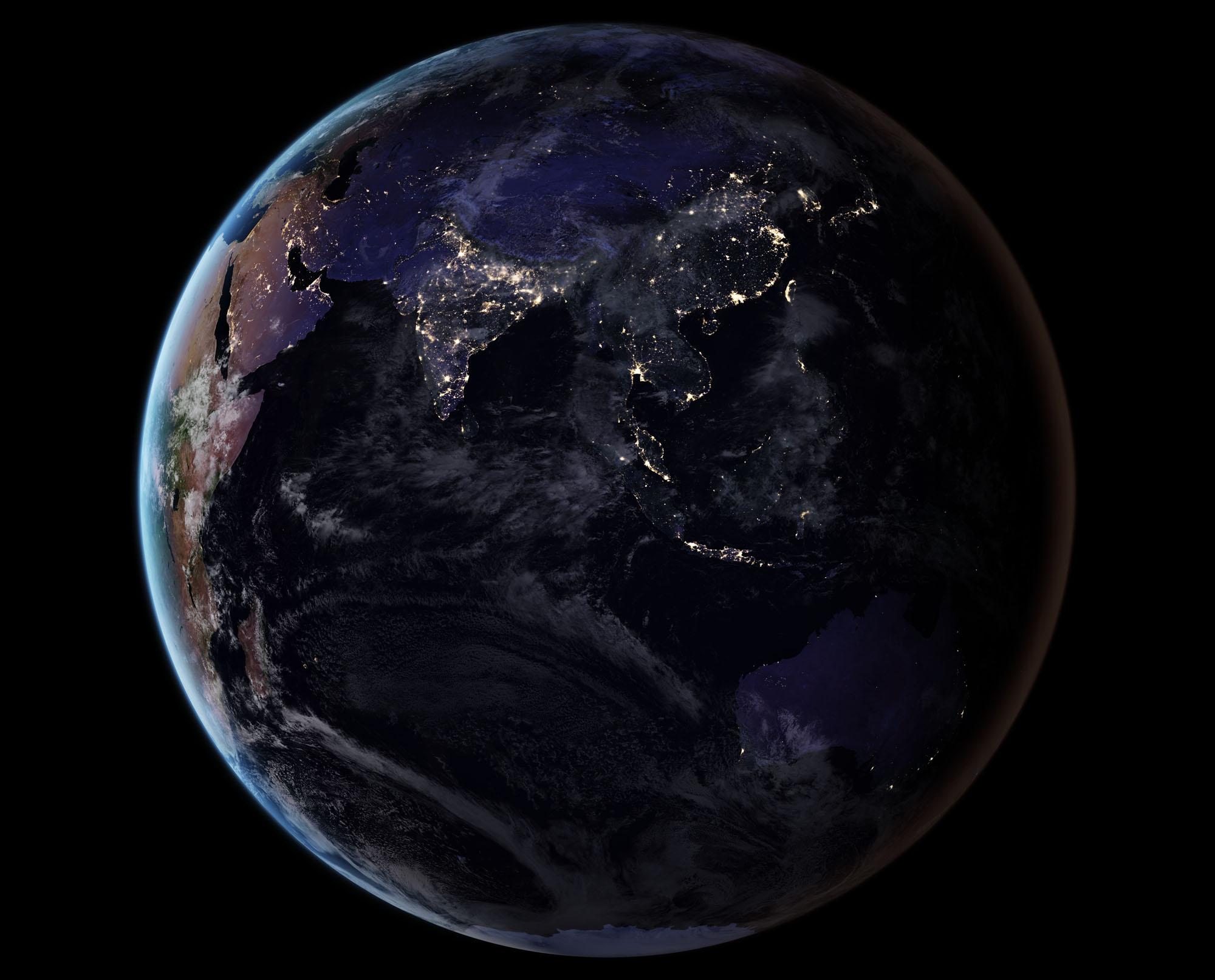 زمین به مدت دو هفته تاریک میشود