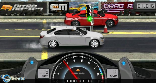 بازی Drag Racing یکی از محبوبترین بازیها سبک مسابقهای شتاب