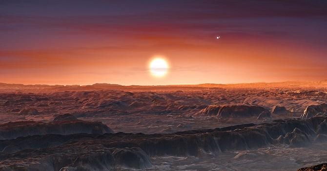 پروکسیما بی سیارهی سنگی مرطوبی است که در مدار پروکسیما قنطورس، نزدیکترین ستاره به خورشید واقع شده است. این سیاره در منطقهی قابل سکونت ستاره خود واقع است، به این معنی که سطح این سیاره ممکن است به اندازهای گرم باشد که امکان جریان آب مایع و درنتیجه زندگی در آن وجود داشته باشد
