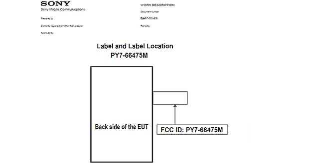 گوشی ناشناختهای از سری سونی اکسپریا تاییدیه FCC را کسب کرد
