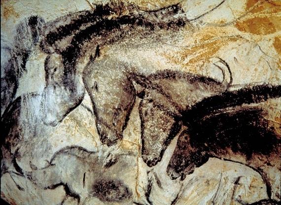 نمونههایی از هنر سنگی غار شووه در جنوب فرانسه. به نظر میرسد، توانایی تفکر انتزاعی تنها منحصر به هومو ساپینس نبوده باشد. اما آیا این دیواره نگاریها گواهی بر وجود افکار پیشرفته در این غارنشینان باستانی است؟ آیا میتوانیم، این نقوش سنگی را هنر بنامیم؟