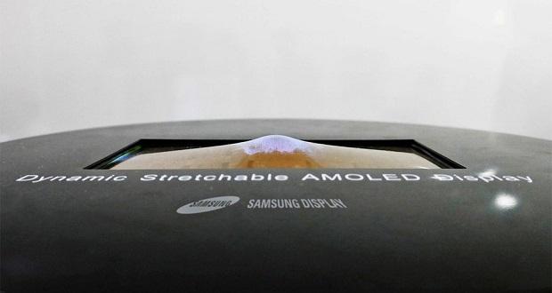 سامسونگ جزئیات اولین صفحه نمایش آمولد کشسانی 9.1 اینچی جهان را منتشر کرد
