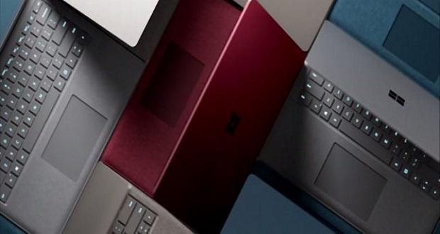 رونمایی مایکروسافت از لپتاپ ویندوز 10 اس جدید سرفیس