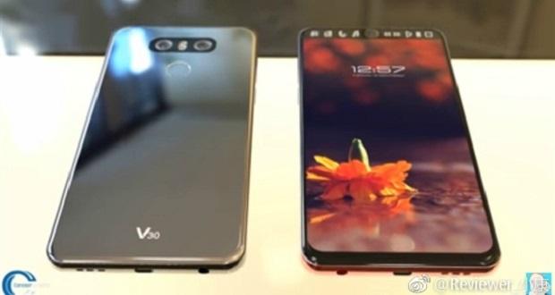 گوشی هوشمند ال جی وی 30 با نمایشگری تمام صفحه و بدنه آینهای شکل!