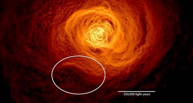 کشف سونامی کیهانی دو برابر بزرگتر از کهکشان راه شیری