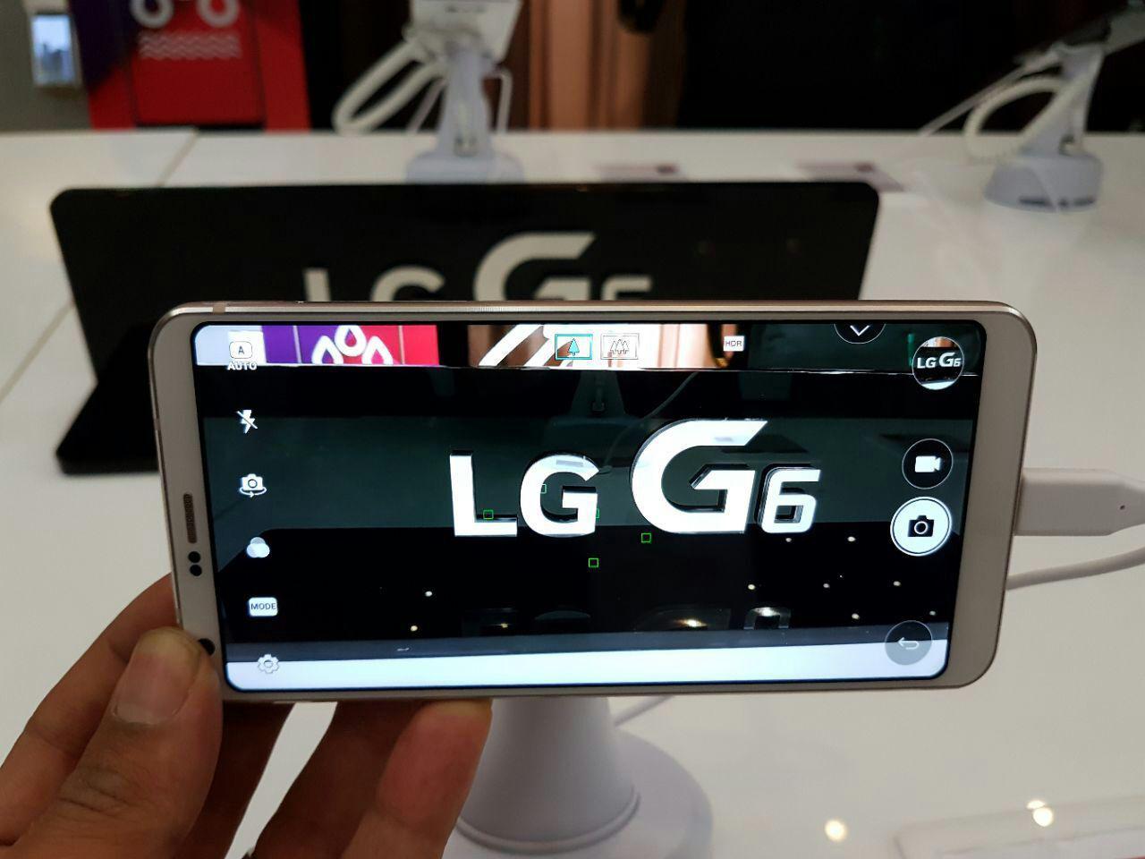 ال جی G6 موبایل پرچمدار جدید شرکت ال جی رسمی و با قمیتی بالا معرفی و وارد بازار ایران شده است. ال جی G6 یک تلفن بالارده و محصول برتر این شرکت محسوب میشود.