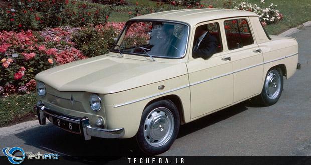 اولین خودروی تولیدی شرکت داچیا رومانی بر اساس رنو 8