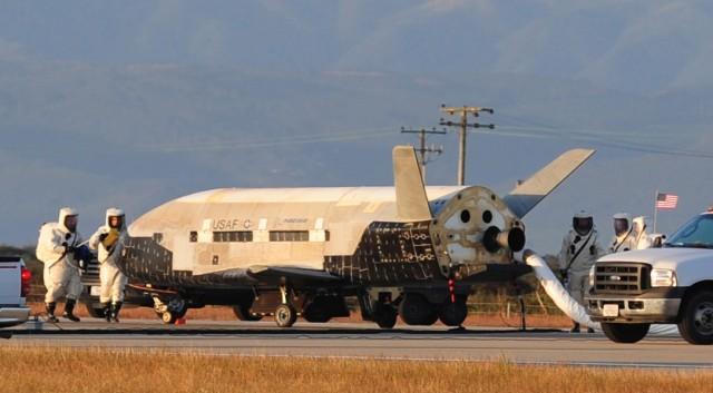 ماموریت OTV-4 در 20 مه 2015 به وسیله یک موشک اطلس 5 متعلق به شرکت اتحادیه مشترک پرتاب به فضا فرستاده شده بود