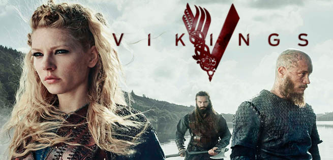 پوستری از سریال وایکینگ ها