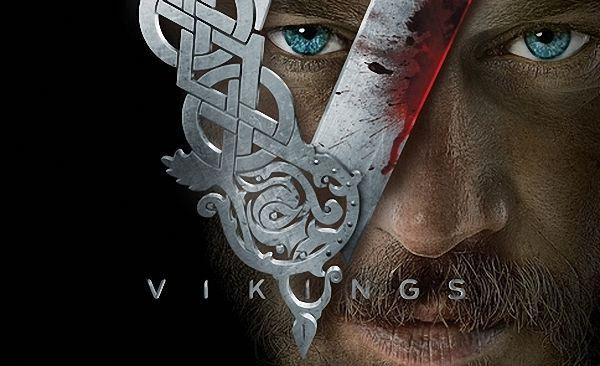 پوستری از سریال تاریخی وایکینگها