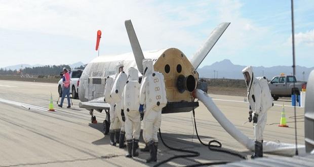 ماموریت مخفی هواپیمای فضاییX-37B به پایان رسید