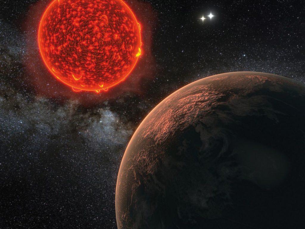 پروکسیما بی به دور مدار پروکسیما قنطورس میچرخد، پروکسیما قنطورس، کوتوله سرخ کم نوری است که مشاهده آن بدون تلسکوپهای قدرتمند غیرممکن است. پروکسیما بی فقط کمی بزرگتر از زمین و دارای یک سال کوتاه شگفتانگیز است و هر ۱۱٫۲ روز یکبار به دور ستارهاش میچرخد