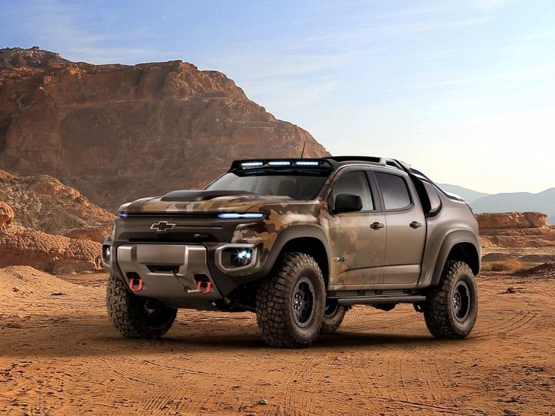 2. جنرال موتورز از خودروی هیدروژنی خود در انجمن ارتش ایالات متحده که در اکتبر سال گذشته برگزار شد، رونمایی کرد.