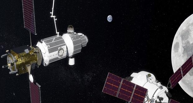 """پایگاه فضایی ماه """" دروازه اعماق فضا"""" برای انتقال نمونههای مریخ به زمین مورد استفاده قرار میگیرد"""