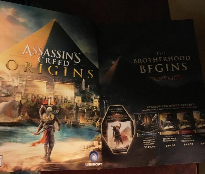 این تصویر به خوبی نشان می دهد که فضای بازی کیش یک آدمکش در مصر باستان طراحی شده است.