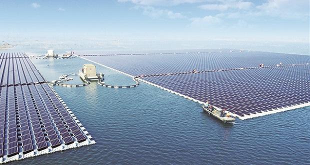 ساخت بزرگترین نیروگاه خورشیدی شناور جهان در چین