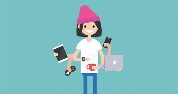 وابستگی و تاثیر شبکههای اجتماعی بر نوجوانان و نسل زد، و فرصت های بازاریابی [اینفوگرافیک]