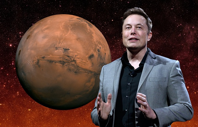 """ایلان ماسک پیش از این در مورد سفر به مریخ، گفته بود: """"این چیزی نیست که ممکن است به نظر برسد، بلکه چیزی است که ما قصد داریم، این طور به نظر برسد"""""""