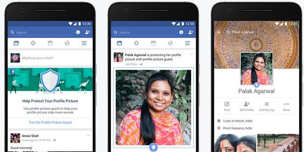 قابلیت جدید فیسبوک از دانلود عکس پروفایل شما و سوء استفاده از آن جلوگیری می کند
