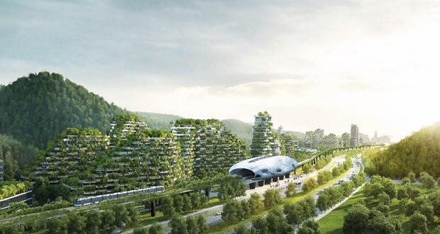 نخستین شهر جنگلی جهان در چین ساخته میشود