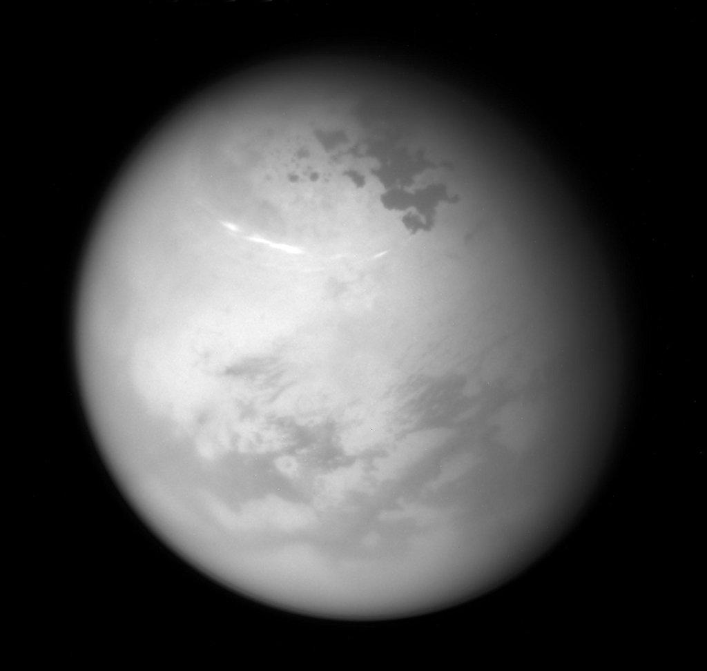 تصویر نجومی روز ناسا 1 تیر 96: تابستان شمالی در تیتان