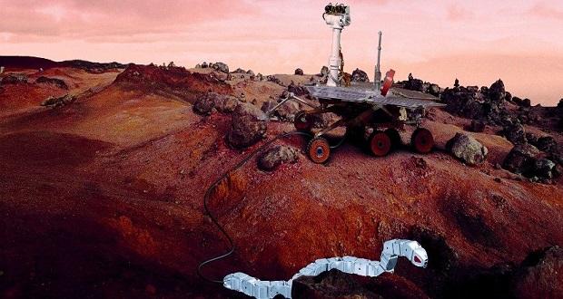 ربات ماری: کاوشگر رباتیکی که میتواند ما را به زیر سطح مریخ ببرد