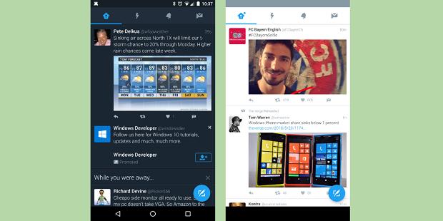 مود شب در توییتر به صورت اتوماتیک در گوشی های اندرویدی فعال می شود