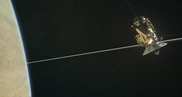 هشتمین شیرجه بزرگ کاسینی در حلقههای زحل