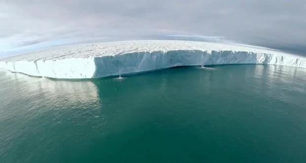 کوه یخی لارسن سی از قطب جنوب جدا شد