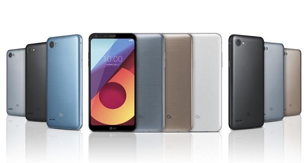 گوشی های LG Q6 در سه مدل مختلف با اسنپدراگون ۴۳۵ رسما رونمایی شدند