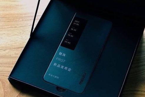 تیزر منتشر شده از میزو پرو ۷ وجود نمایشگر ثانویه در این موبایل را تایید می کند