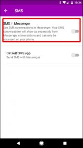 یکی از بهترین اپلیکیشن های ارسال پیام در پلتفرم اندروید، فیسبوک مسنجر است.