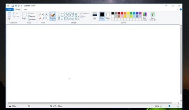 مایکروسافت پینت با آپدیت جدید ویندوز 10 برای همیشه حذف خواهد شد