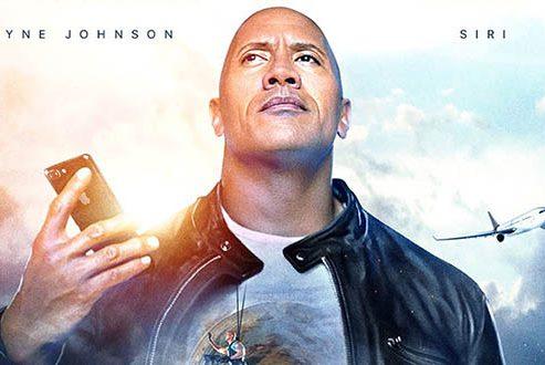 همکاری دواین جانسون و اپل در ساخت فیلمی برای سیری با نام The Rock x Siri
