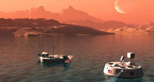 قمر تیتان ممکن است برای فرود فضاپیماها مناسب باشد