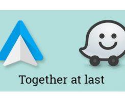 اپلیکیشن مسیریاب ویز (Waze) روی نرم افزار اندروید اتو در دسترس خواهد بود